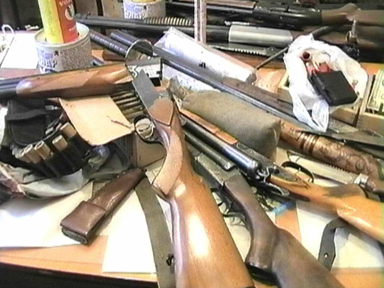 Жители Самборщины добровольно сдали 21 единицу оружия