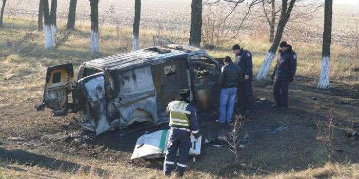 Погиб один из руководителей Старосамборской милиции: тело обнаружили в обгоревшей машине