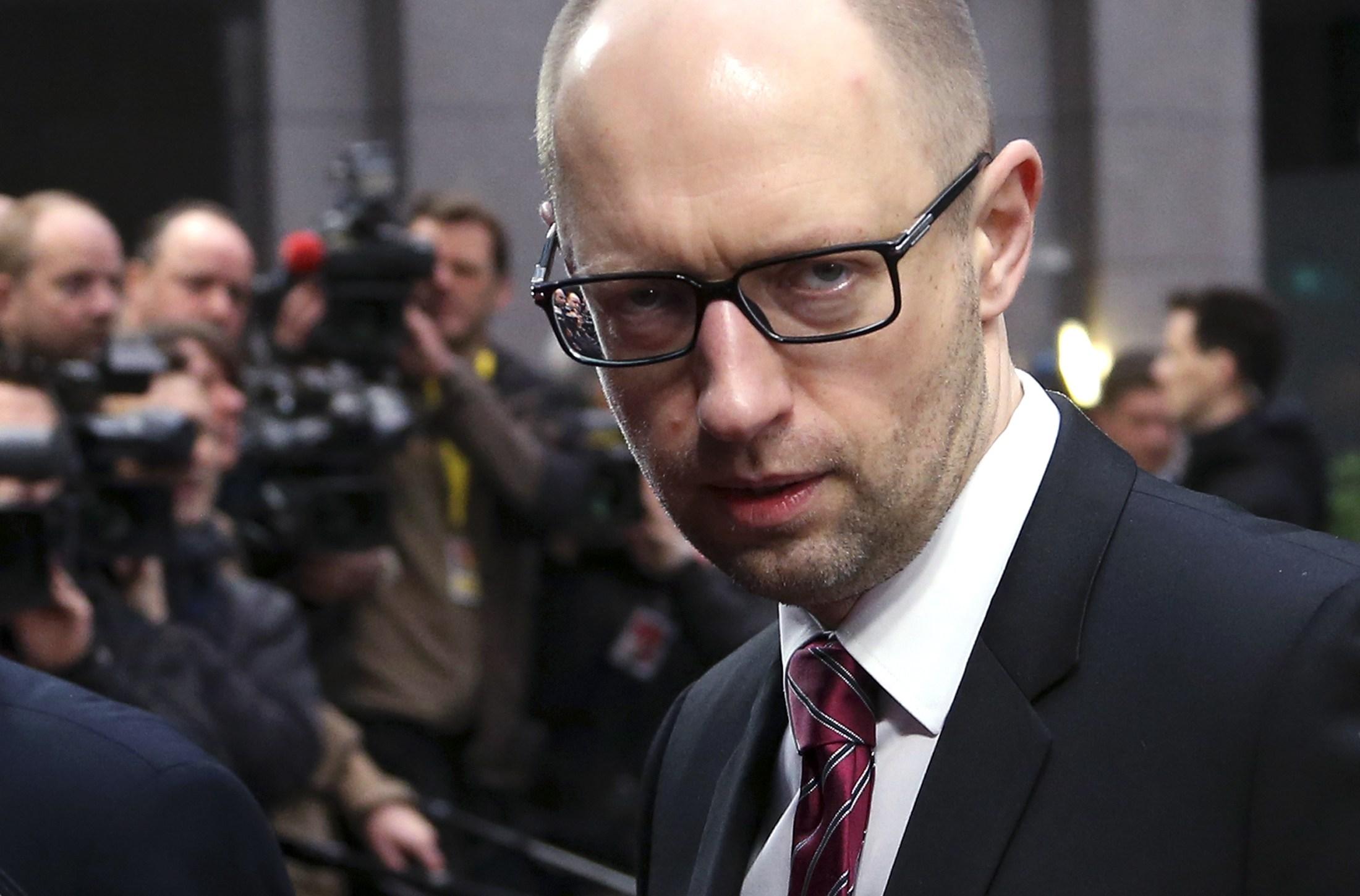 Підписання коаліції: прем'єром лишили Яценюка
