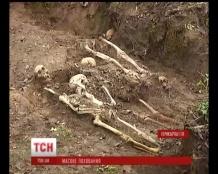 На Прикарпатті на подвір'ї лікарні знайшли останки 175 людей, закатованих НКВС