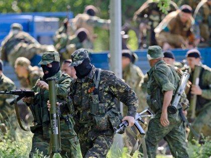 У границы с РФ на ростяжци подорвались два украинские пограничники
