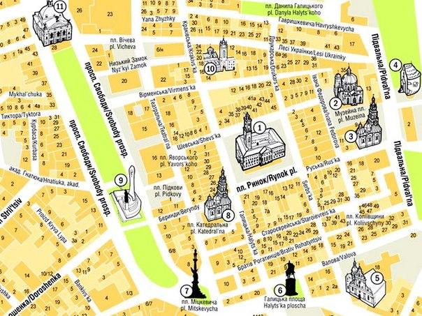 В центре Львова перекрыли движение на ряде улиц