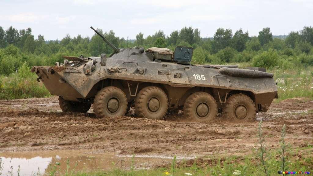 З Росії увійшла колона бронетехніки, РФ нарощує силу біля кордону