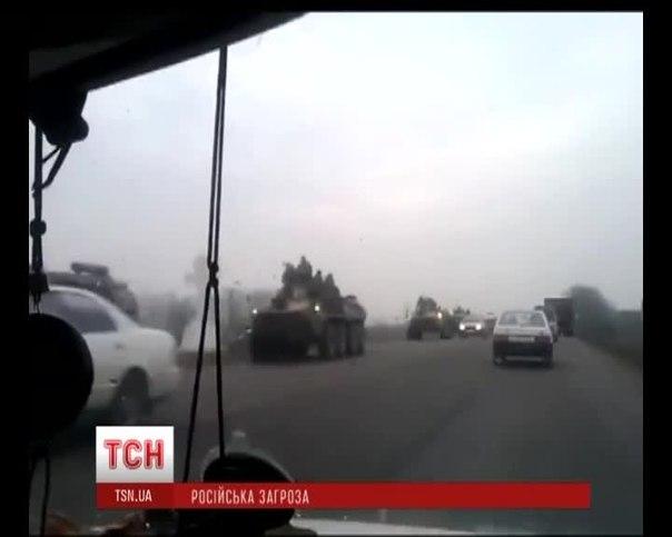 Із Росії в Україну зайшла колона військової техніки і суне на Луганськ