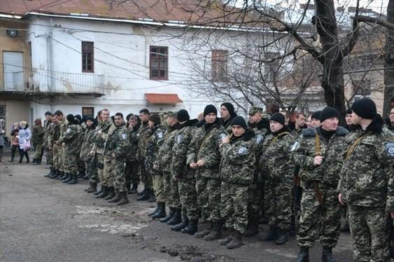 67 бойцов батальона «Львов» отправились в зону АТО
