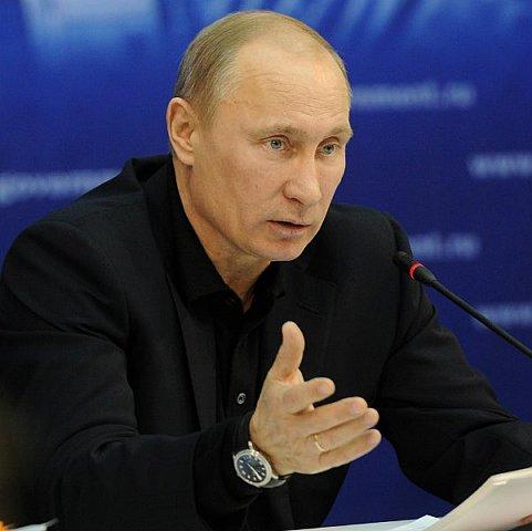 """Путин обвинил Запад в развязывании новой """"холодной войны"""""""