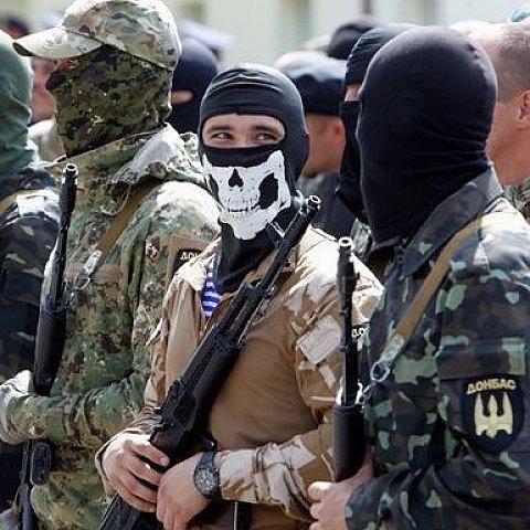 """Батальон """"Донбасс"""" готовит новых добровольцев"""