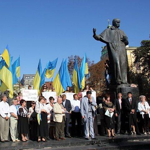 Украинский язык будет единственным государственным