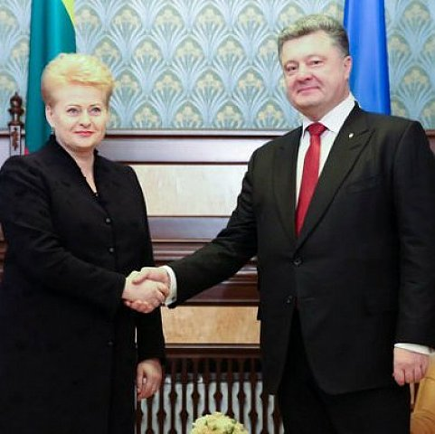 Литва розпочинає постачання зброї в Україну, -Порошенко