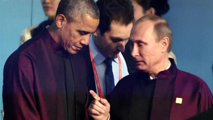 Путін і Обама двічі поспілкувалися на саміті в Пекіні