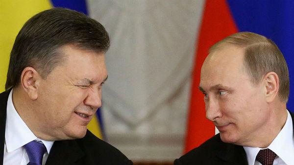 Росія не видасть Януковича Україні