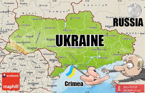 """Климкин """"потролив"""" Россию открыткой с Крымом (фото)"""
