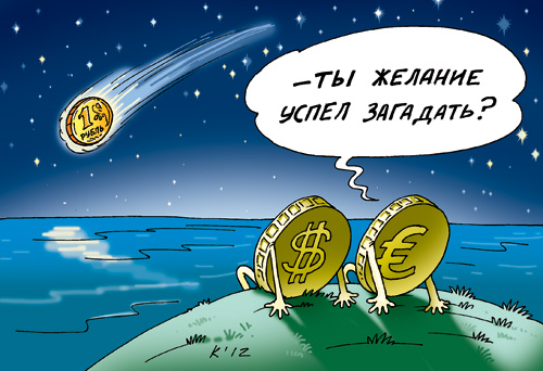 """Падіння рубля. Хто буде """"козлом отпущения"""" через його падіння…??? (Відео)"""