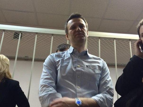 У Росії оголосили вирок Навальному (Фото)