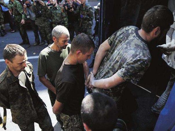 Из плена боевиков освободили еще 4 украинских бойцов