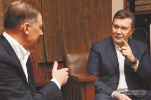 Перше велике інтерв'ю Януковича: Лідери опозиції вирішили мене вбити