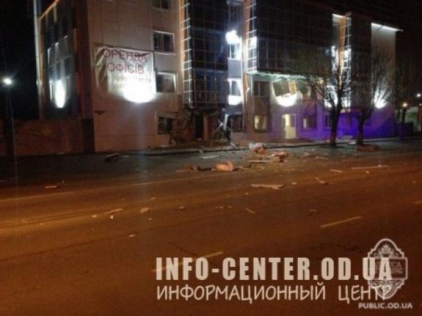 В Одесі цієї ночі підірвали волонтерський центр допомоги військовим (ФОТО)
