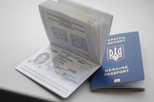 Украинский показали биометрический загранпаспорт