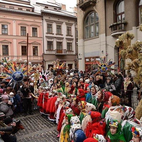 11 декабря во Львове стартуют новогодние и рождественские празднования