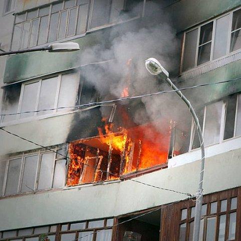 В собственной квартире сгорела 89-летняя львовянка