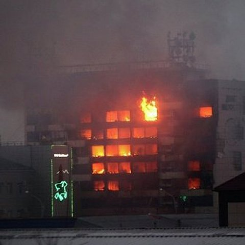 В центре Грозного произошел взрыв и разгорелись ожесточенные бои