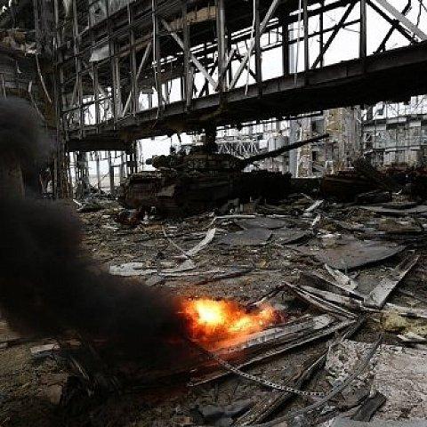 """""""Кіборги"""" відступили зі старого терміналу Донецького аеропорту"""