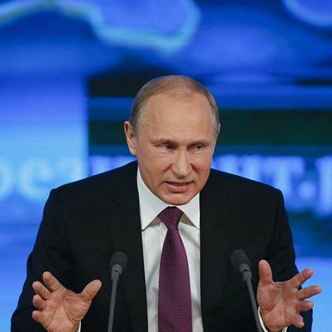 Виступ Путіна на прес-конференції показали у стилі хіп-хоп