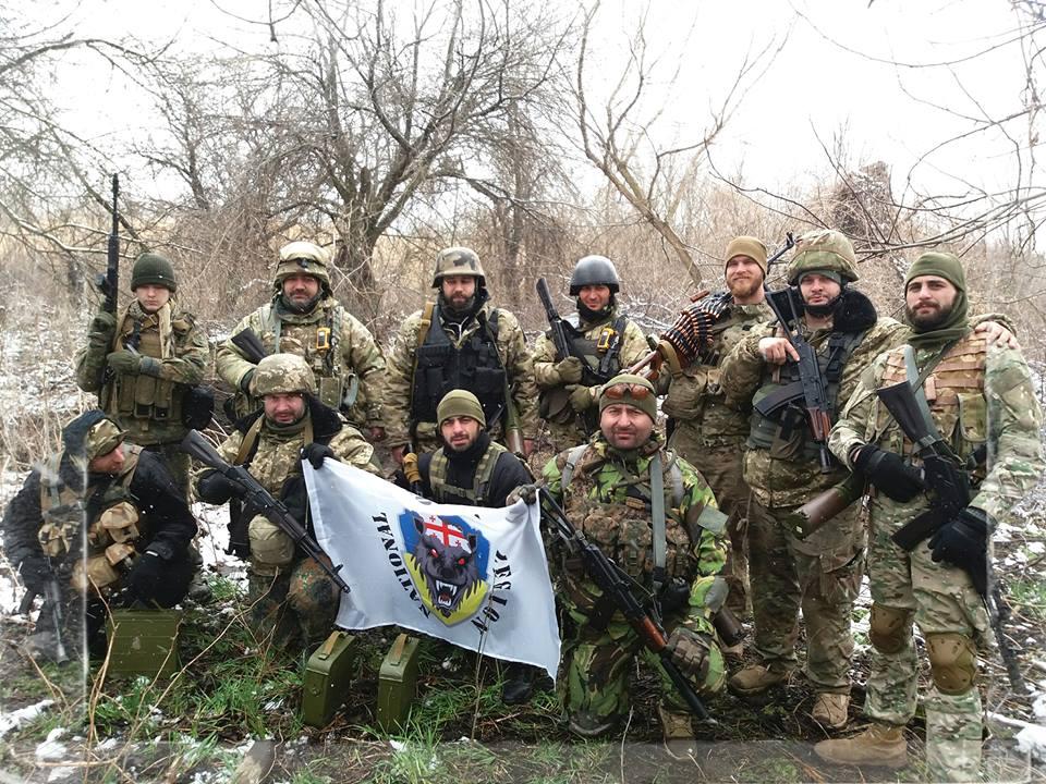 Грузинам офіційно дозволили воювати на стороні сил АТО