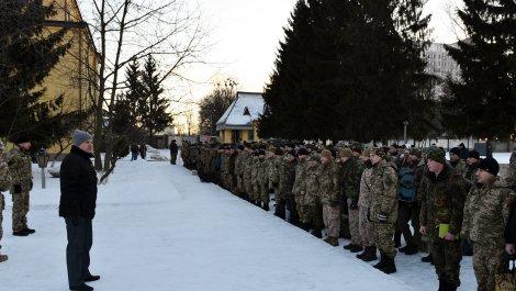 400 львовских десантников отправились на ротацию в зону АТО
