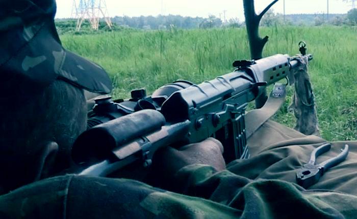 В Луганской области силы АТО разбили колонну вражеских танков