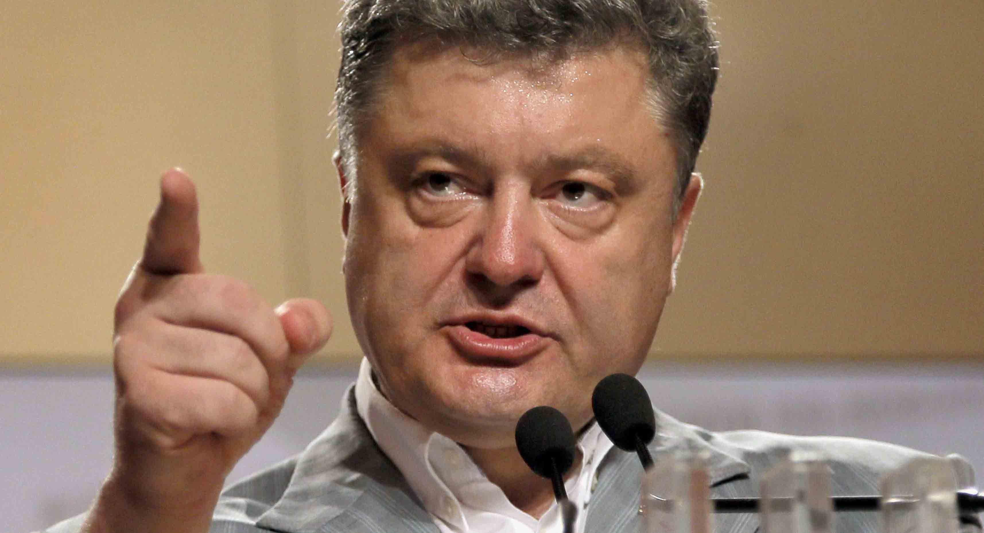 Порошенко пообіцяв дати Путіну по зубах