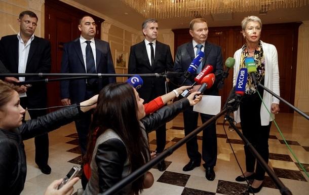 Представители «ДНР» и «ЛНР» улетают из Минска, не дождавшись переговоров