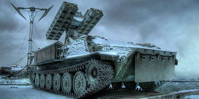 В Шахтерске появились 6 зенитно-ракетных комплексов «Стрела-10М»