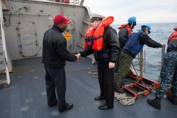ВМС Украины и США провели совместные учения в Черном море (ФОТО)