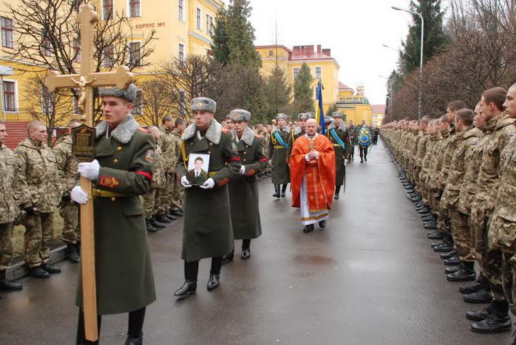 Во Львове простились с героем Виктором Сигаевым (фото)