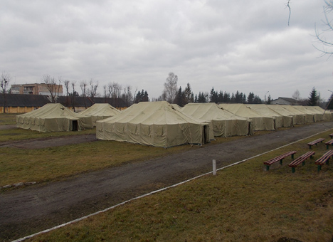 На Львівщині розпочалися навчання для мобілізованих чоловіків (фото)