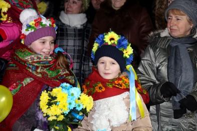 У Львові зустріли 500 десантників-Героїв із АТО(ФОТО)