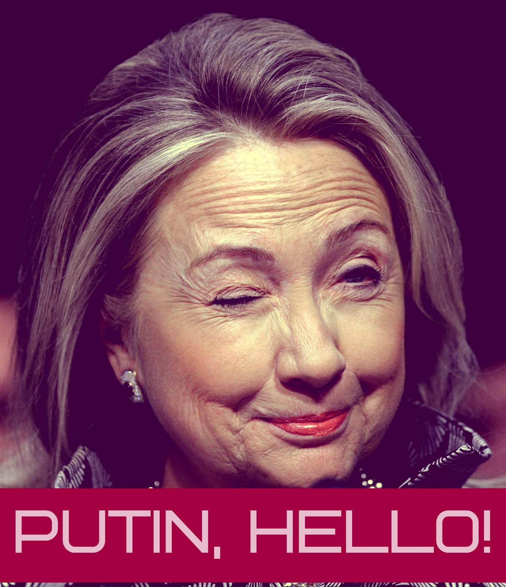 Путина спародирована Хиллари Клинтон