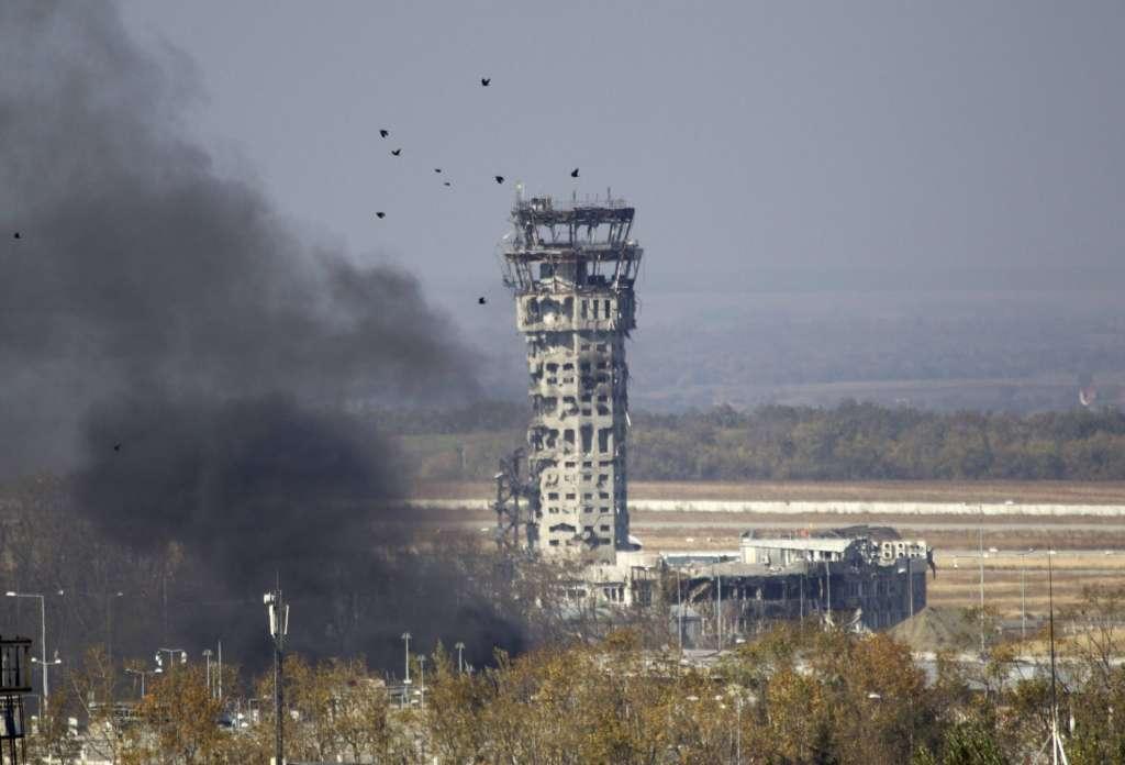 В аеропорту Донецька триває бойова операція