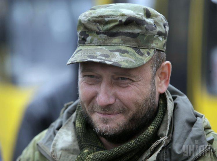 Дмитрия Яроша ранили в зоне АТО
