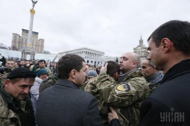 "На Майдане попрощались с бойцом ""Айдара"" (ВИДЕО)"