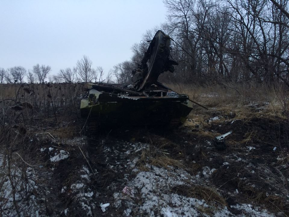 Боевики оставляют свои блокпосты, а в РФ отправили два грузовика с трупами бандитов