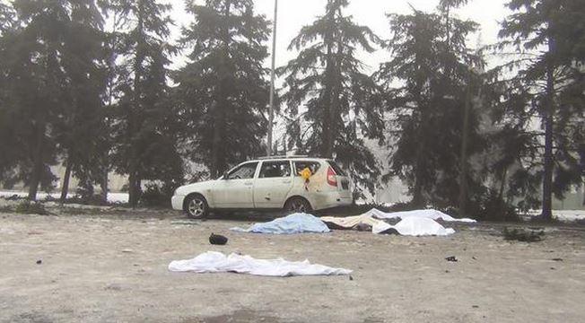 Во время сегодняшнего обстрела Донецка погибли по меньшей мере 7 человек