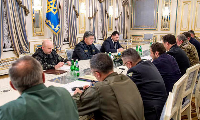 Порошенко провел совещание с руководителями силовых ведомств