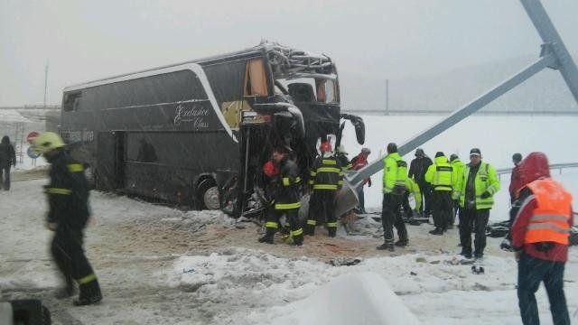 У Словаччині розбився автобус c українцями: є загиблі та постраждалі (ФОТО)