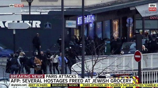 ТЕРМІНОВО: Підозрюваних у теракті в Charlie Hebdo вбито