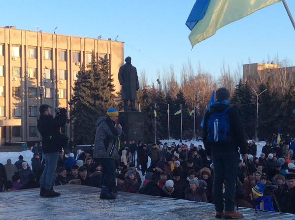 У Слов'янську хочуть знести пам'ятник Леніну (ФОТО)