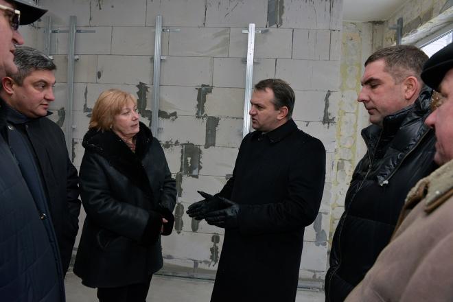 Реконструкцію Львівського перинатального центру планують відновити навесні 2015 року (фото)