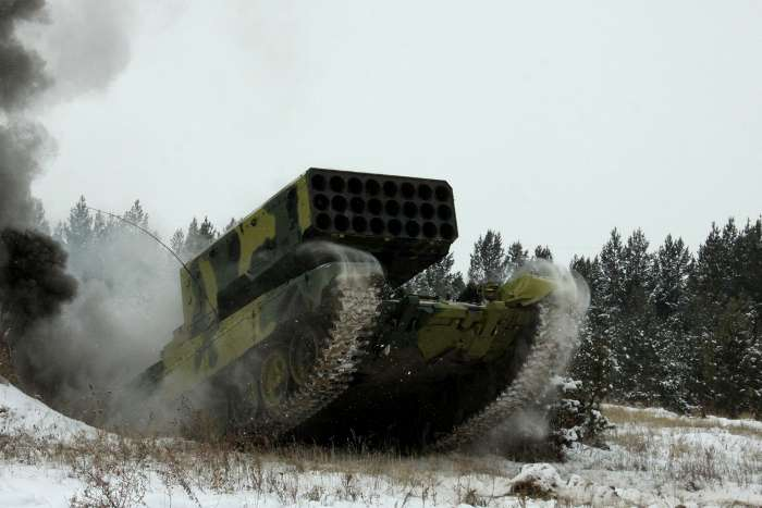 На Луганщине бойцы АТО накрыли «Буратино» и почти 200 боевиков