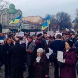 Львів'яни вшановали жертв теракту під Волновахою